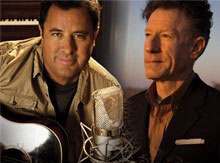 Vince Gill and Lyle Lovett